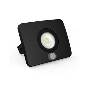 LUMAX LED reflektor 10W SURFI PIR 700lm SLIM Studená bílá LFL411BS